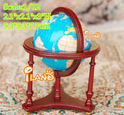 1:12 Scale Turnable Large World Globe Doll House Furniture Mini Map